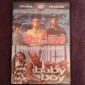 Baby boy & boys in hood